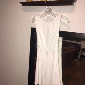 White Semi Formal Short Dress